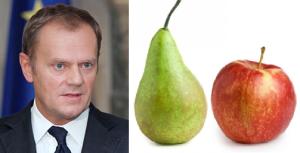 tusk päron äpple
